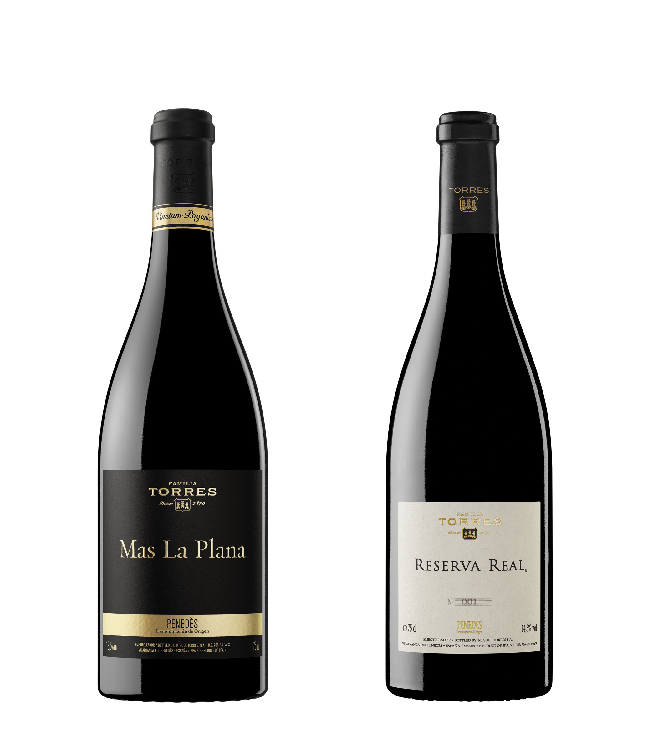 El vino Mas La Plana 2012 de la Familia Torres brilla en los Decanter World Wine Awards